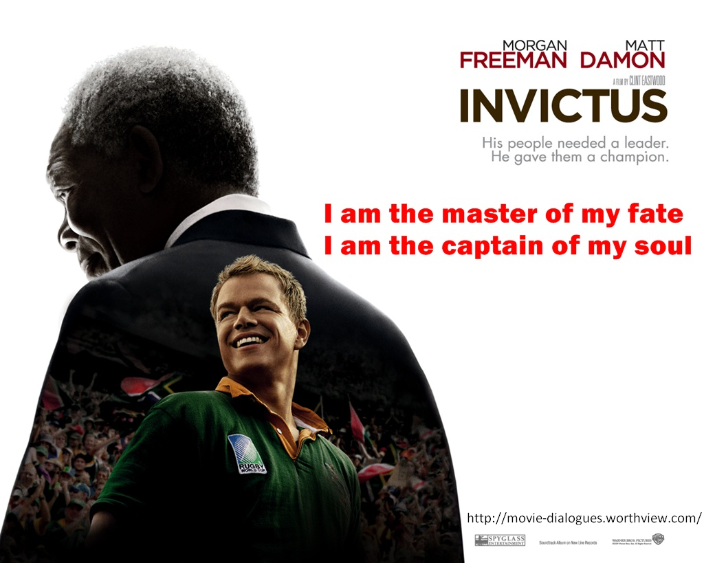 Invictus Movie Quotes