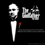 """The GodFather"" movie quotes"