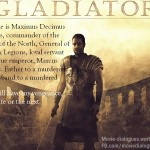 Gladiator – Movie Quotes