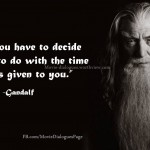 "Top Quotes by Gandalf from ""The Lord of the Rings"""